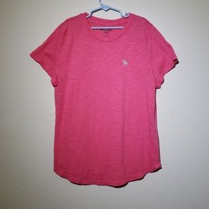 Abercrombie Kids Pink Short Sleeve Tee Girls